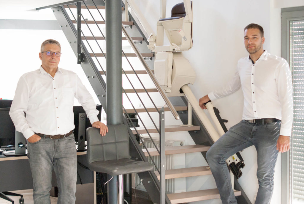 Günter und Philipp Heinrichs